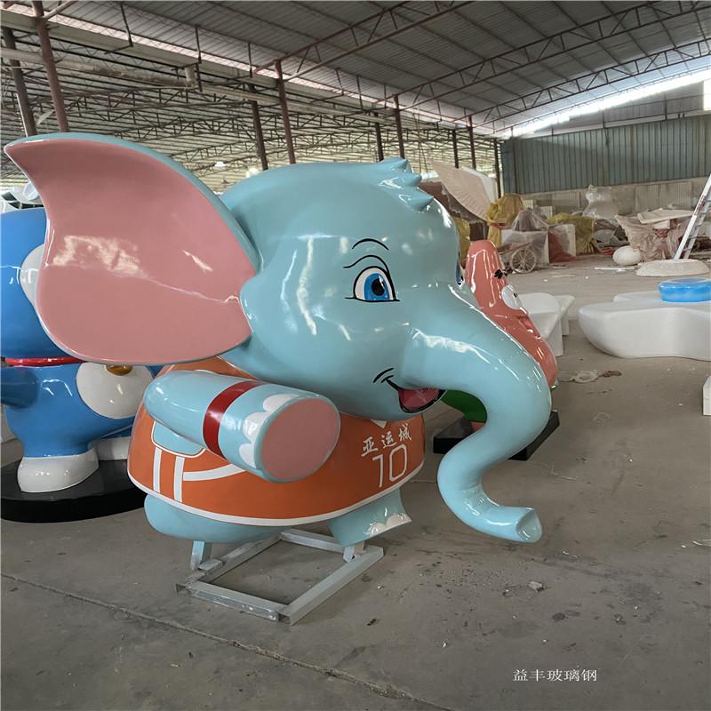 广州玻璃钢卡通雕塑厂家 吉祥物卡通公仔雕塑摆件951632005