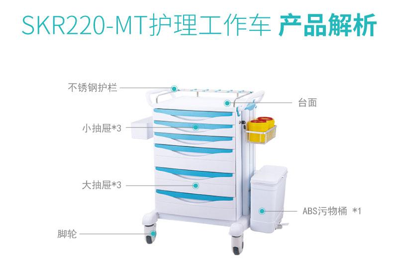 SKR220-MT 护理推车