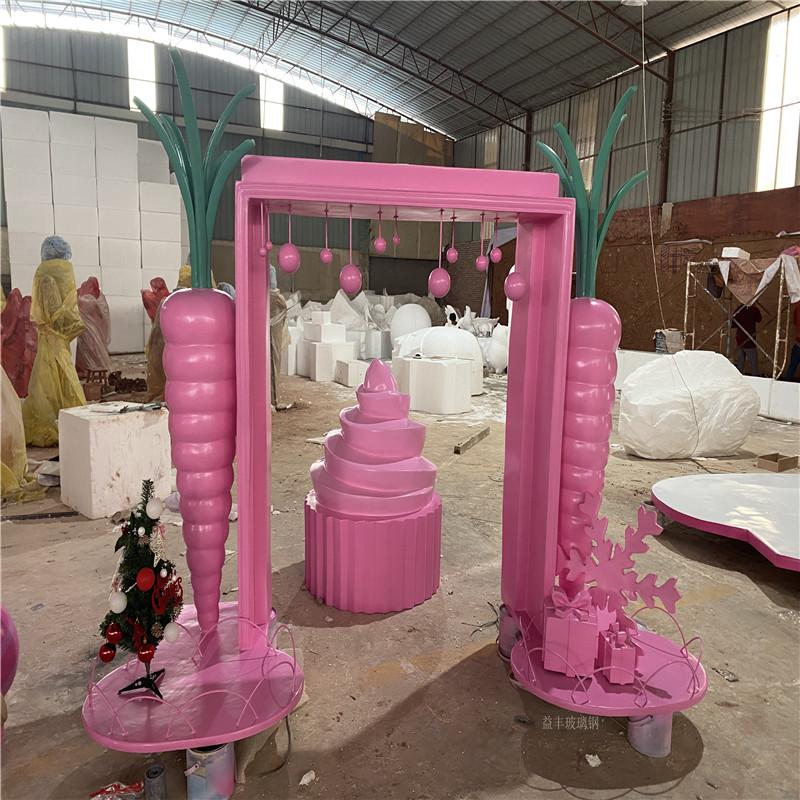 广州玻璃钢坐凳雕塑 抽象坐凳雕塑 户外广场雕塑155685305