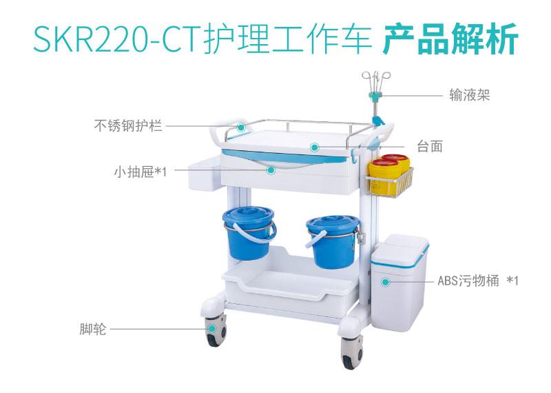 SKR220-CT 护理工作车 护理推车