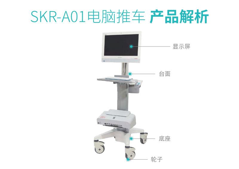 SKR-A01 护理推车 电脑推车