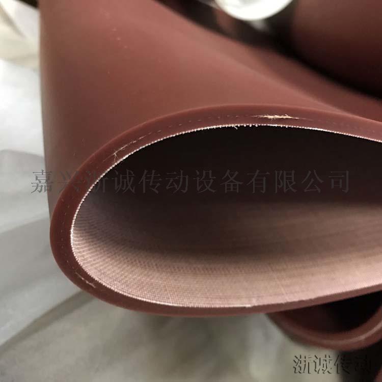 无缝硅胶输送带 耐高温硅胶带156885475