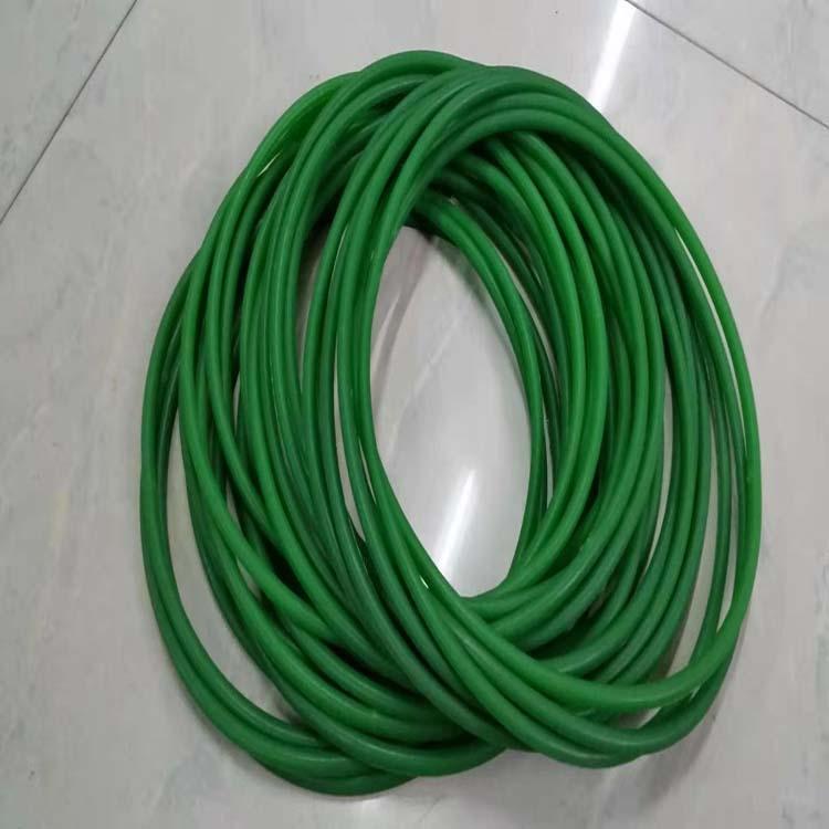 绿色无缝圆带