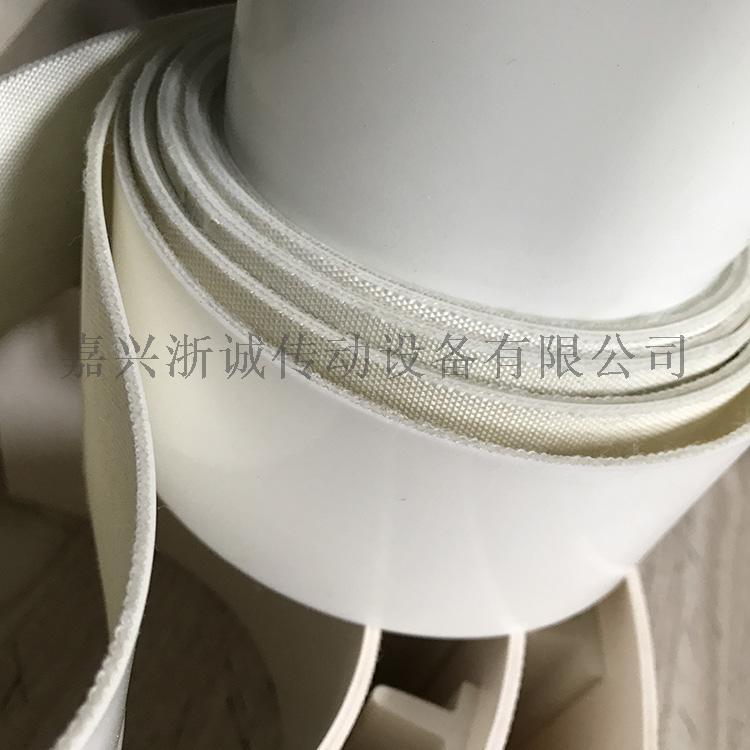 白色硅胶输送带