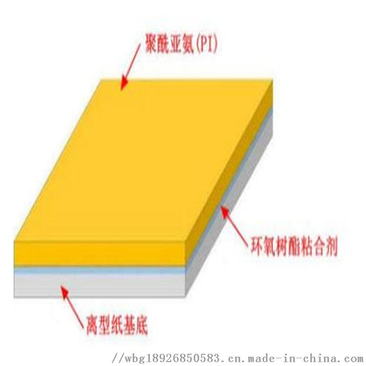 厂家直销 PI覆盖膜 热压粘合保护膜962622655