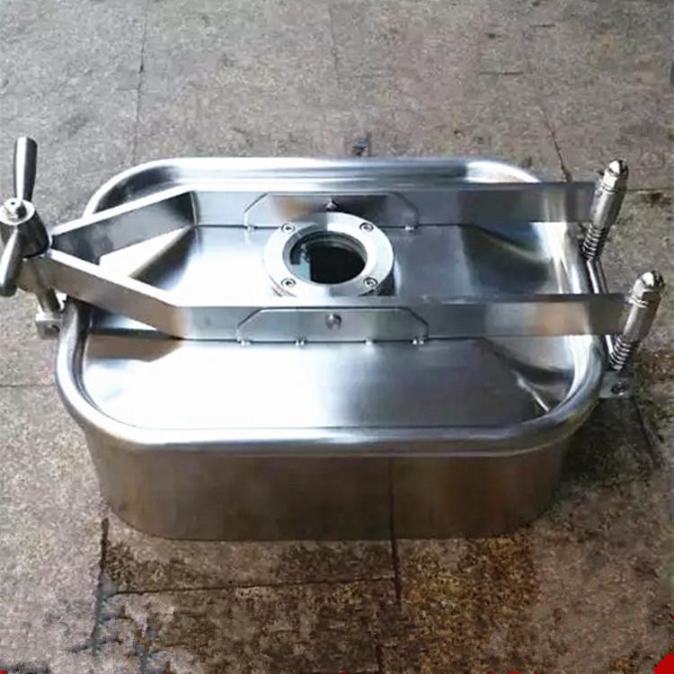 330×430不锈钢方形人孔 卫生级人孔157698395