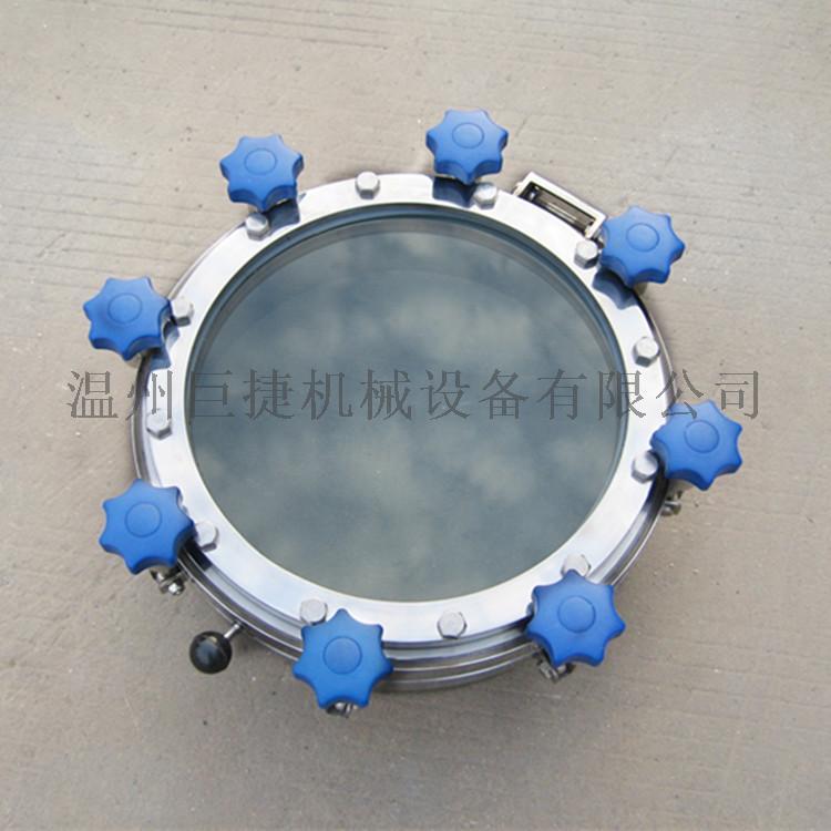 全镜糖化人孔-卫生级糖化人孔 一体式全镜人孔157966985