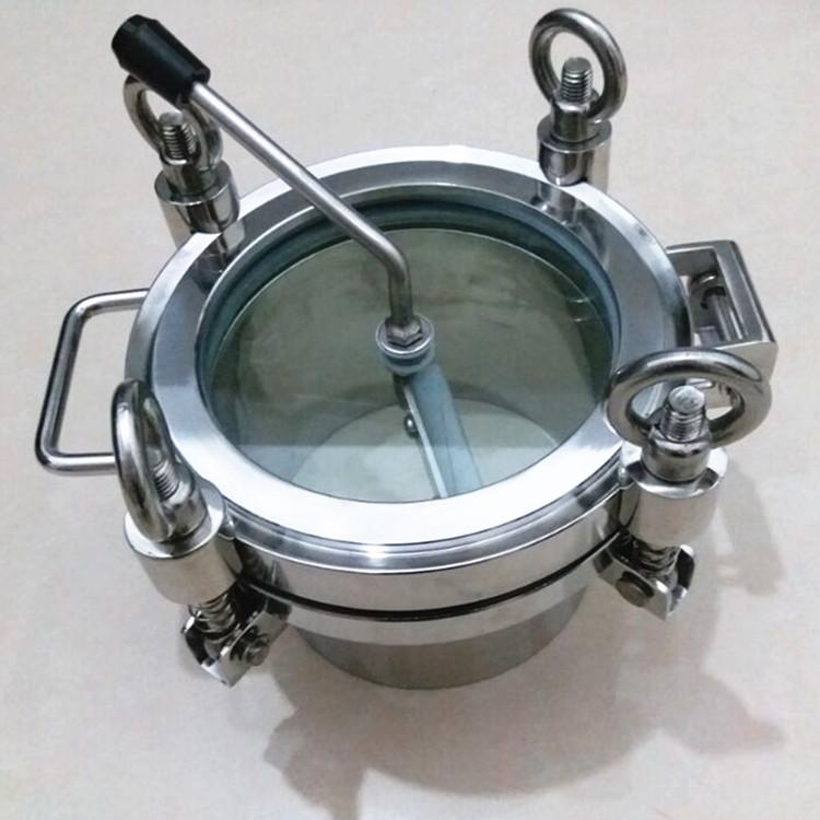 带刷手孔不锈钢带刷手孔 卫生级带刷手孔带刷手孔157980505