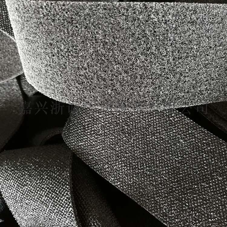 黑色罗拉皮 包辊黑绒卷皮 黑绒糙面带157686045