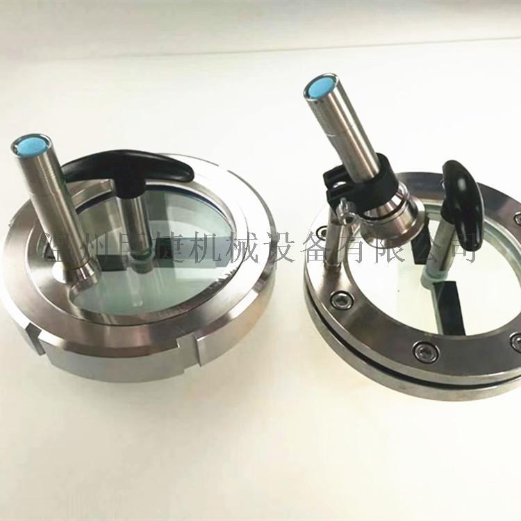 不锈钢带延时灯视镜-卫生级法兰视镜、带灯法兰视镜158082645