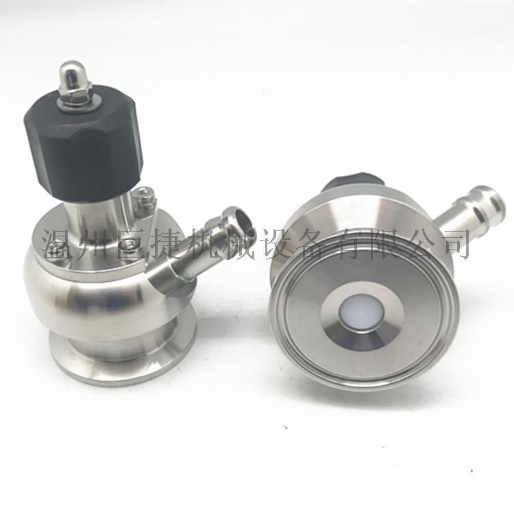 316L取样阀-无菌取样阀、单边焊接无菌取样阀158255125