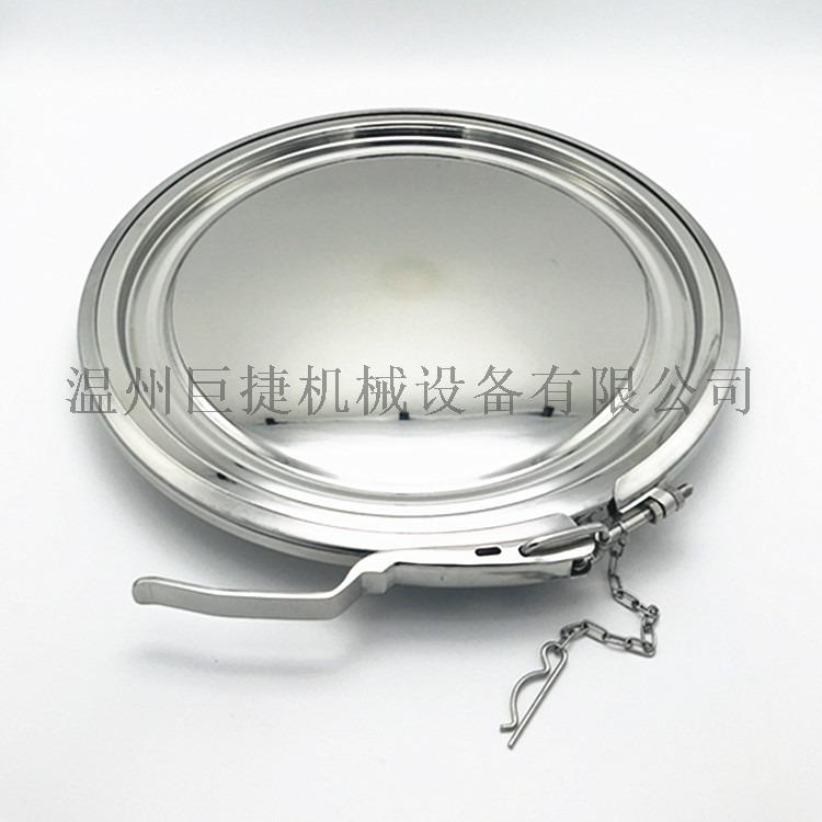 卡箍式粉体人孔盖、食品级卫生级卡箍式粉体人孔158303555