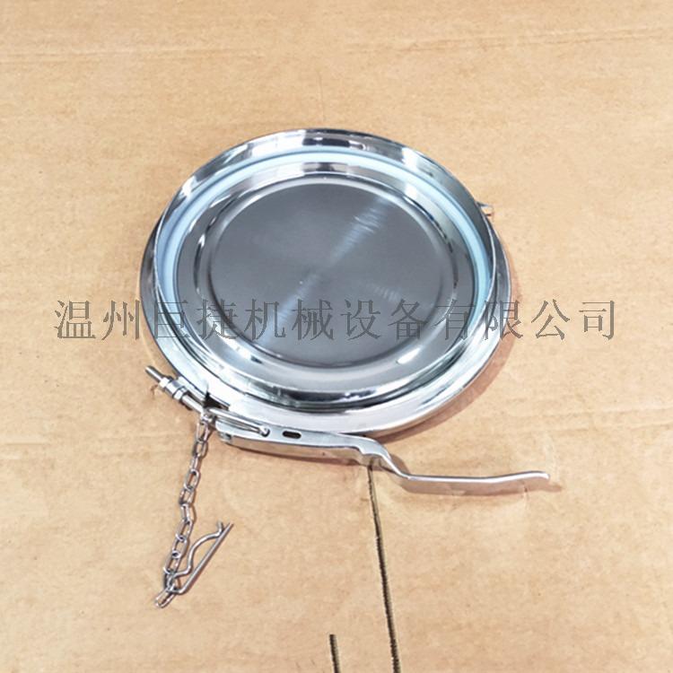 卫生级不锈钢卡箍人孔效果图描述158302955