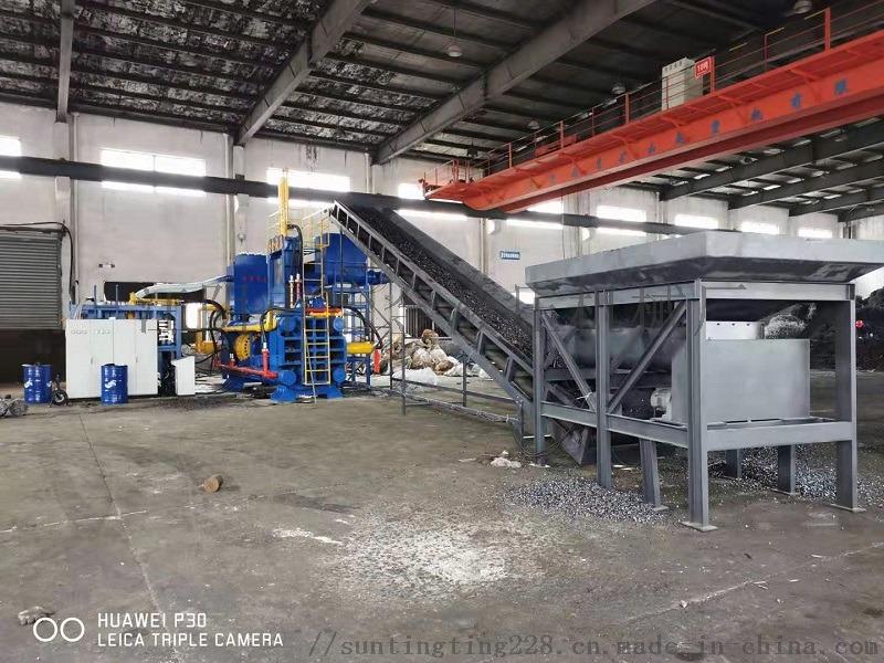 磨床屑压块机,磨床屑切屑液挤压回收156479895