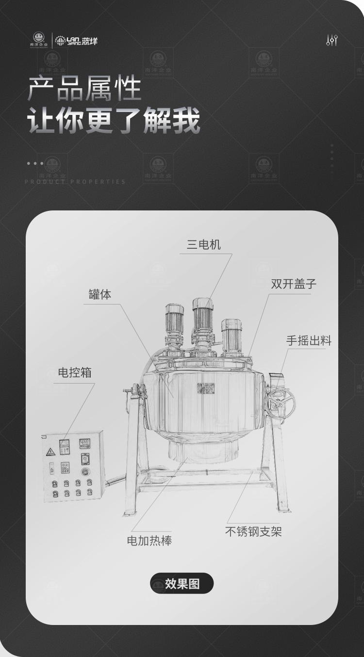 南洋搅拌桶夹层分散桶电加热250L_02.jpg