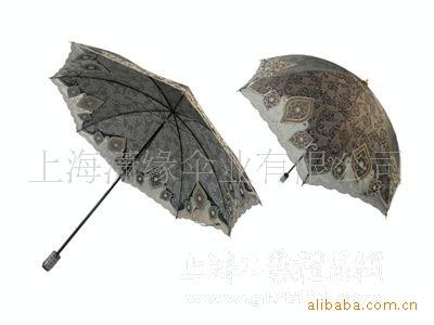 两折虎骨女式伞