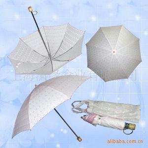 两折虎骨女式伞2