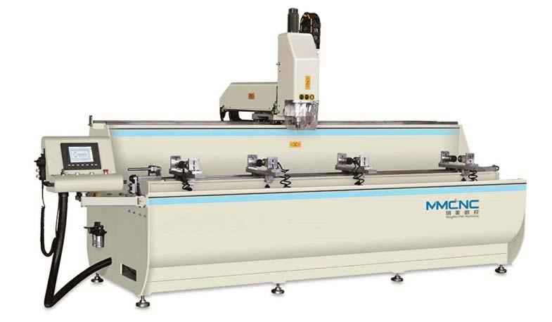 SKX3+1-CNC-3000鋁型材3+1軸數控鑽銑牀