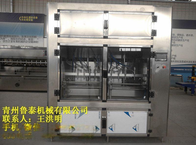 伺服灌装机DY-ZR-SF系列  酱类灌装机  油类灌装机  日化用品灌装机  厂家直销732817742