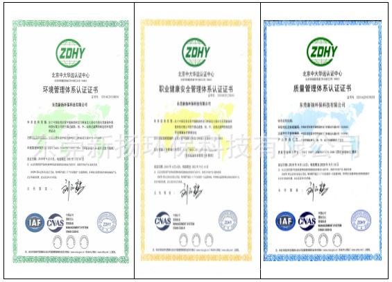 企业认证资质