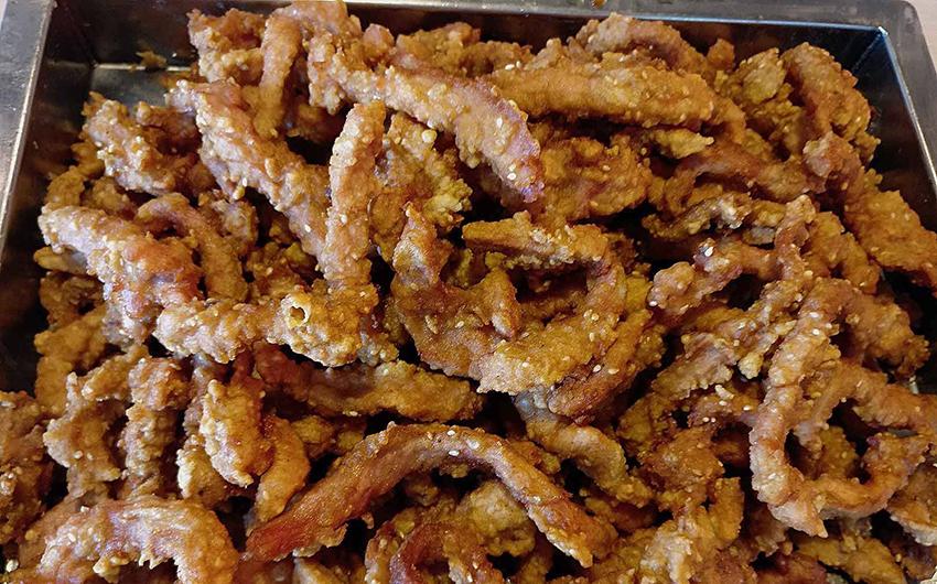 自动食品机 油条机 肉条油炸机55416022
