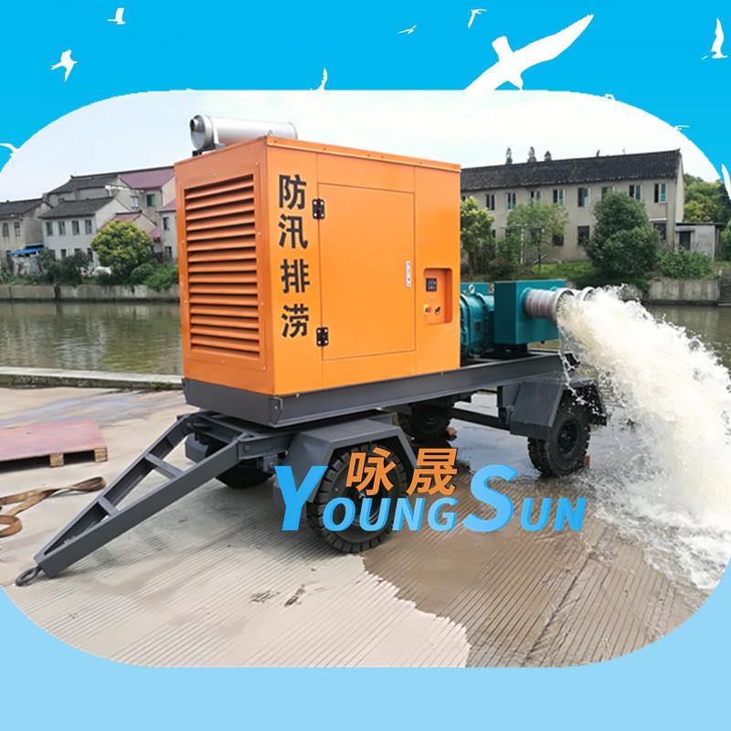 8寸柴油机转子泵