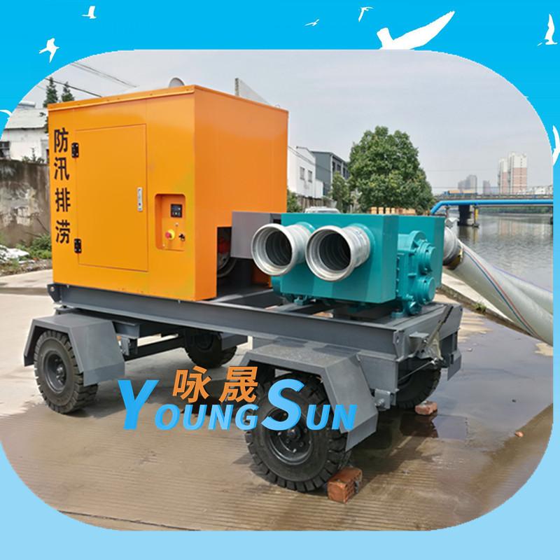8寸防汛移动转子泵