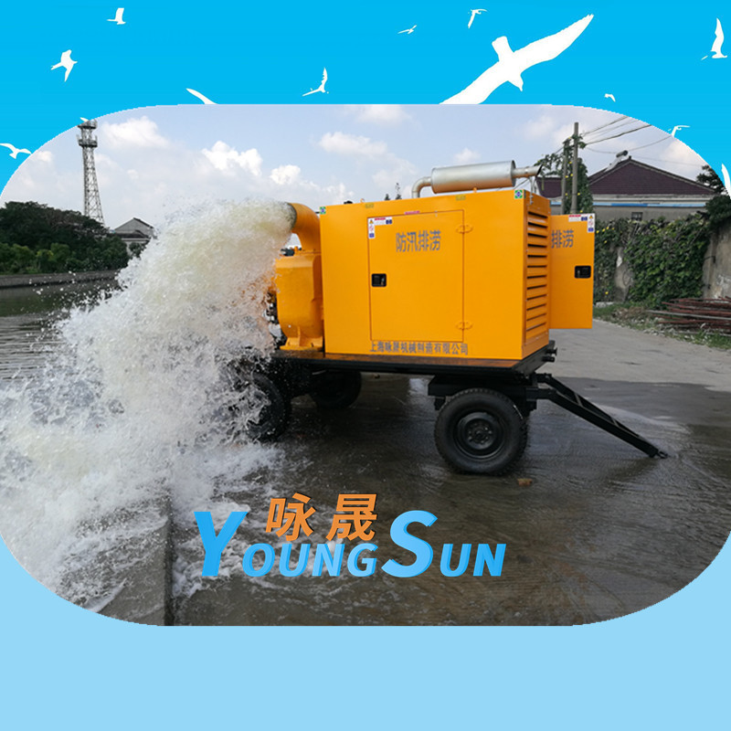 12寸柴油机自吸污水泵