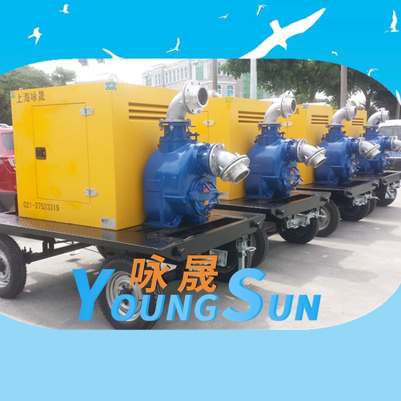 防汛移动泵车机组