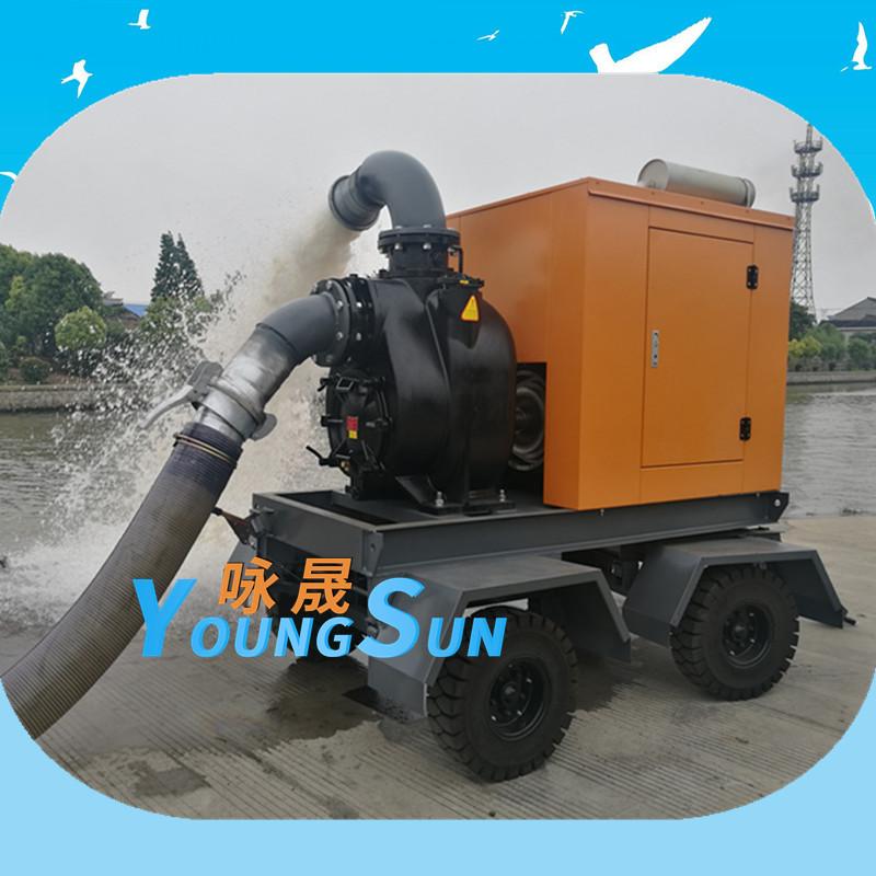 大流量柴油机排污泵