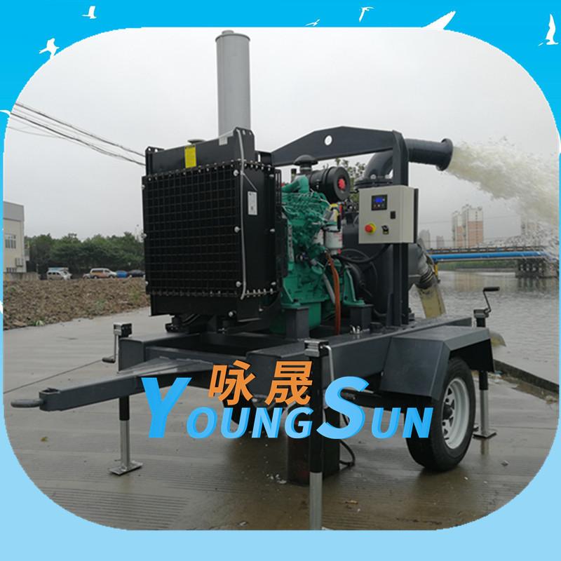 防汛移动泵车6寸
