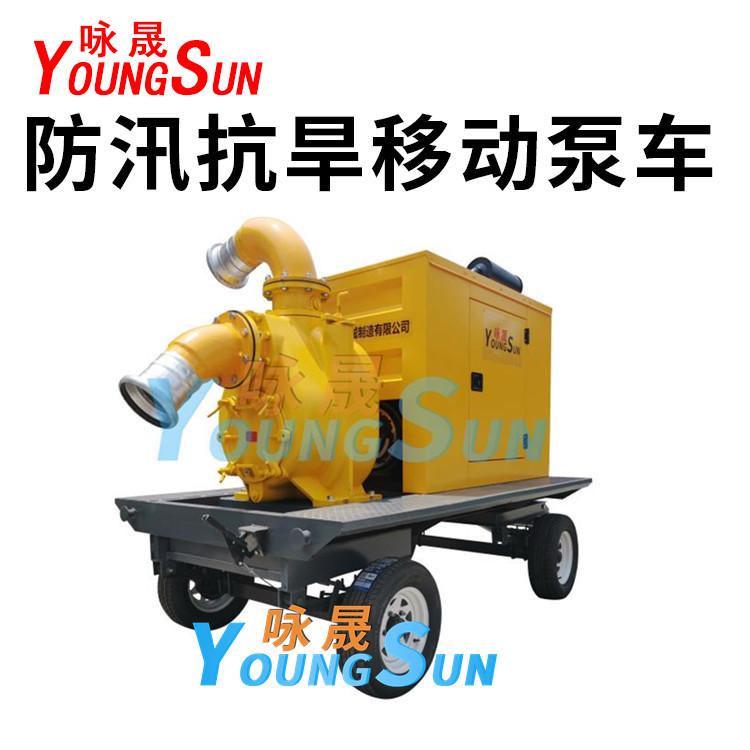 8寸防汛抗旱泵车