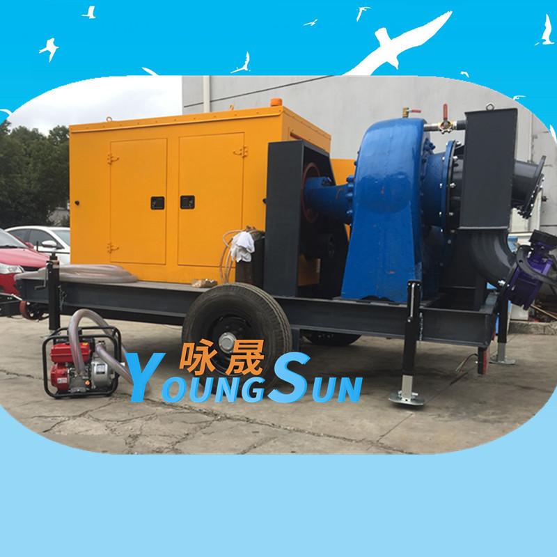 20寸防汛柴油水泵