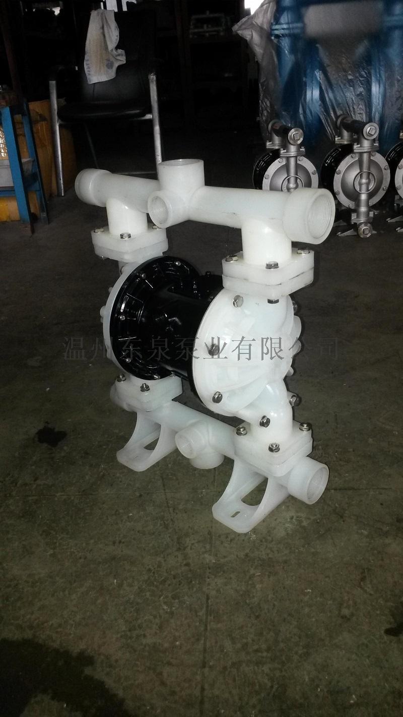QBY3-20工程塑料气动隔膜泵,塑料隔膜泵60325155