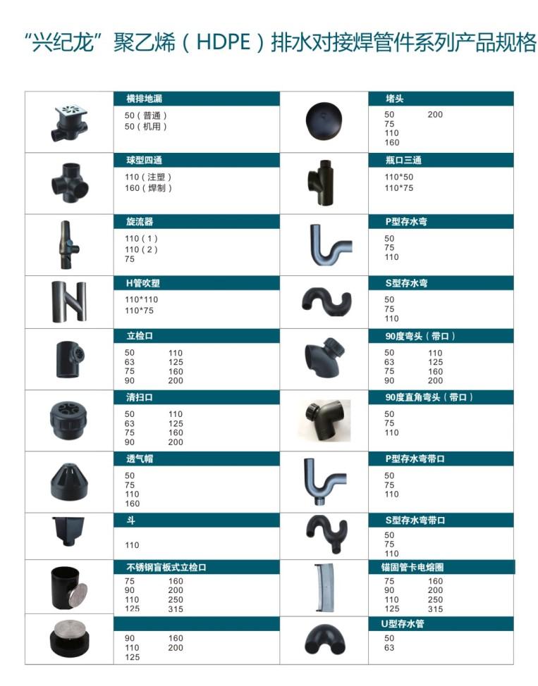 HDPE对接焊管件系列产品规格2.JPG