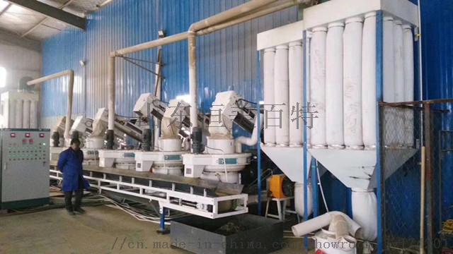 新型木屑顆粒機 免打黃油生物質顆粒機成套機組67992342