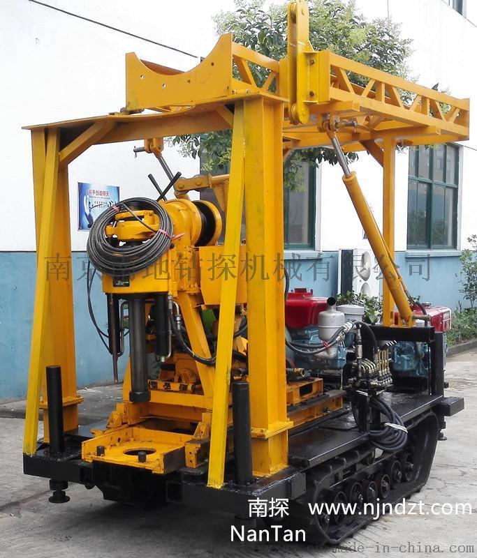 南探牌履帶鑽機(1-300米勘探鑽機,XY系列、GXY系列塔泵機一體,液壓起落).jpg