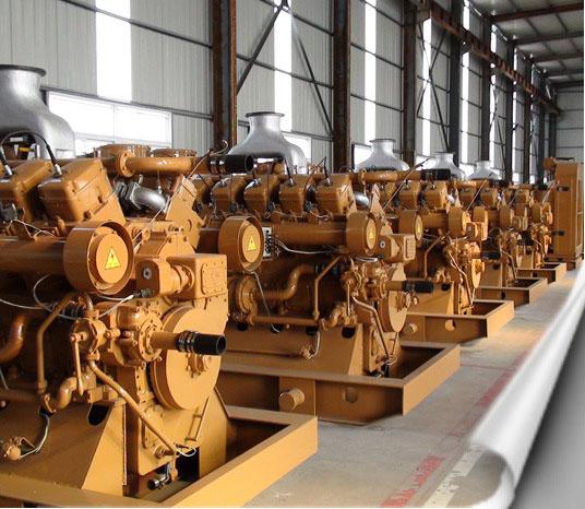 600KW沼氣發電機組