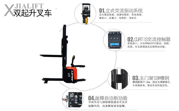 本溪电动堆高车厂家直销规格齐全-沈阳兴隆瑞78703282