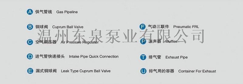 污水处理用工程塑料气动隔膜泵四氟膜片82427175