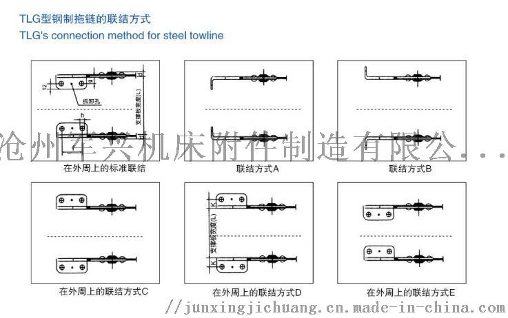 防锈镀锌/镀铬/304/316材质钢铝钢制拖链定制82511162