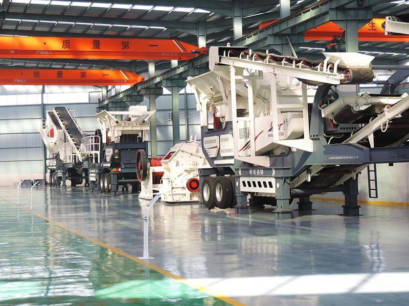 移动式砂石设备 环保破碎机 建筑垃圾移动破碎站厂家84702262