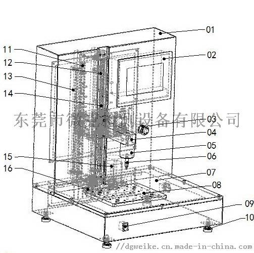 纳米压痕试验机 纳米压痕分析试验机796902312