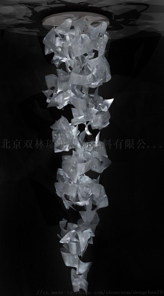 別墅躍層客廳水晶吊燈801851282