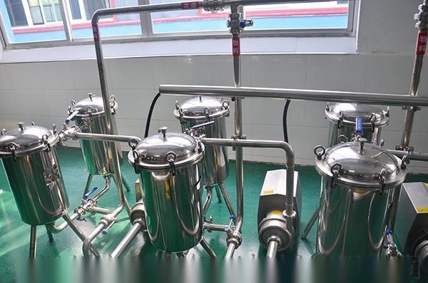 (实力厂家)粗粮饮料加工设备 中型谷物饮料生产机器90420192