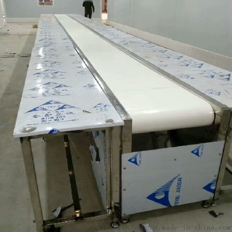 定制食品厂白色皮带输送线、小型平面流水线、按需定制800036172