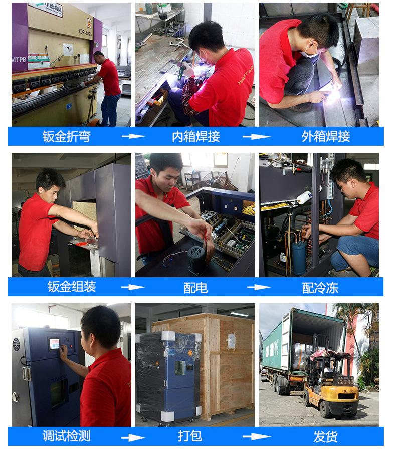 80L桌上型恒温恒湿箱 东莞多重保护恒温恒湿试验箱92112025
