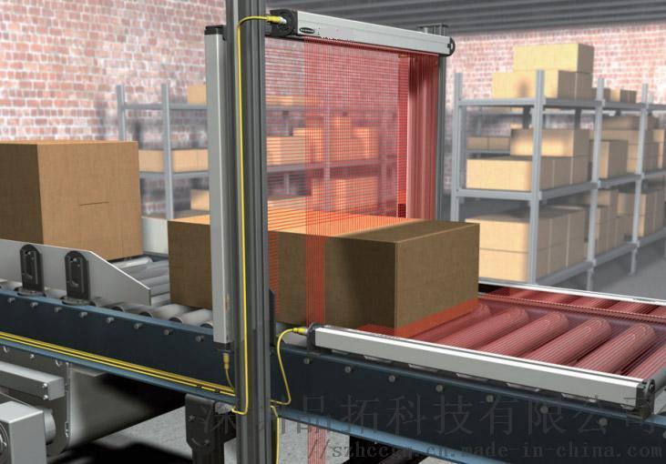 測量光幕 高精度測量檢測光柵 體積尺寸計數光幕853665635