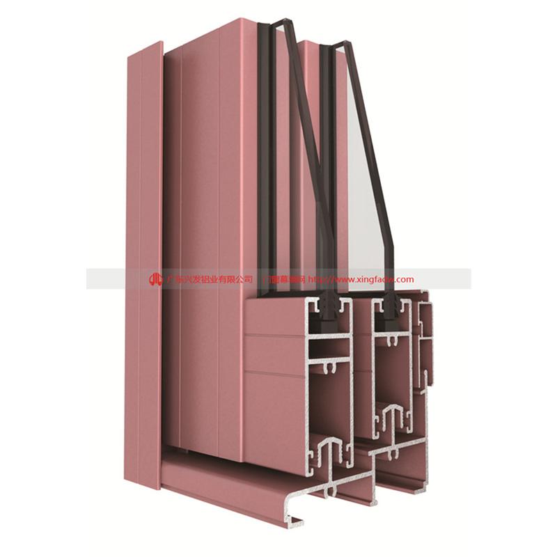 廣東鋁合金門窗品牌廠家直銷推拉門|興發鋁業72755065