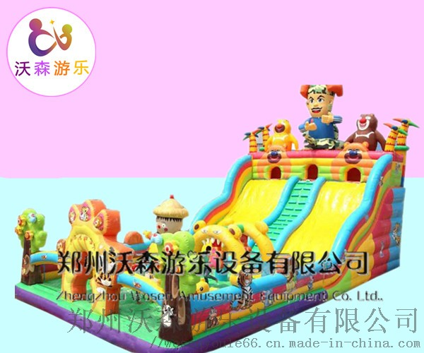 新品美猴王充气大滑梯,大圣归来气包浙江厂家大促销799804142